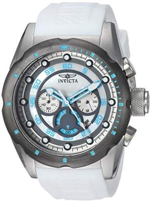 Invicta Men's 'Speedway' Quartz Stainless Steel and Polyurethane Casual Watch