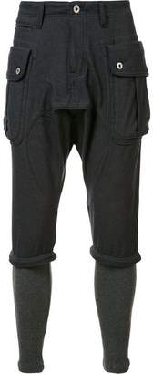 Mostly Heard Rarely Seen cargo skinny trousers