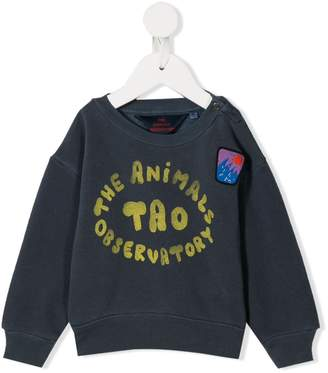The Animals Observatory printed logo sweatshirt