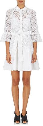 Derek Lam 10 Crosby Women's Cotton Eyelet & Poplin Shirtdress $495 thestylecure.com