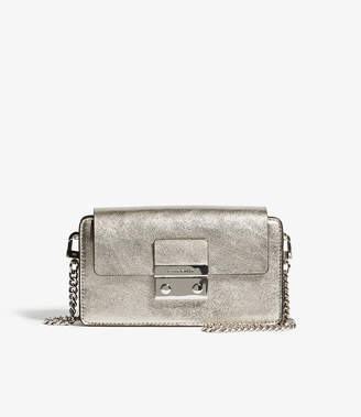 Karen Millen Metallic Box Cross-body