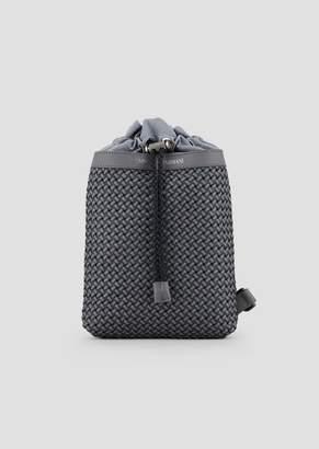 2cef1c22675 Emporio Armani Single-Shoulder Backpack In Smooth