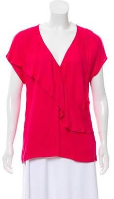 Ella Moss Ruffle Short Sleeve Top w/ Tags