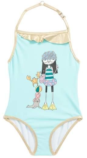 LITTLE MARC JACOBS Miss Marc One-Piece Swimsuit