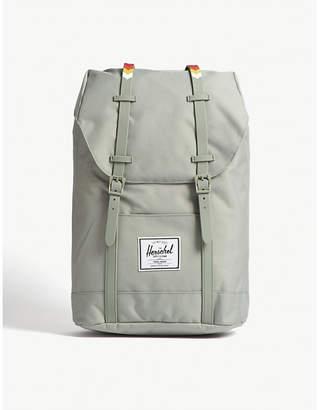Herschel Light Grey Woven Retreat Backpack