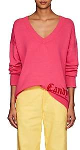 "ADAPTATION Women's ""Candy"" Cashmere Deep-V-Neck Sweater - Pink"