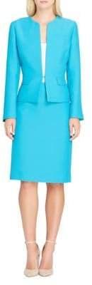Tahari Arthur S. Levine Peplum Jacket and Skirt Suit