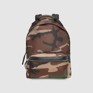 Sandro Technical material backpack