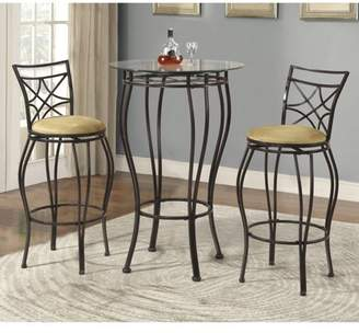 Homesource Home Source Pub Table & 2 Stools