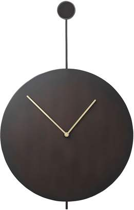ferm LIVING Trace Stainless Steel Wall Clock
