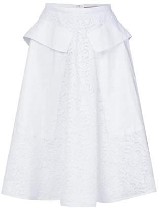 No.21 lace A-line skirt