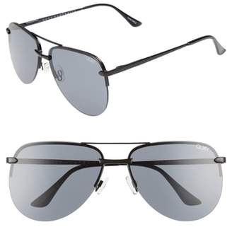 Quay The Playa 64mm Aviator Sunglasses