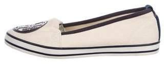 Tory Burch Woven Slip-On Sneakers