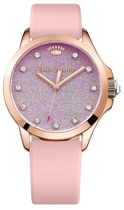 Juicy Couture Women's Jetsetter Crystal Casual Watch $175 thestylecure.com