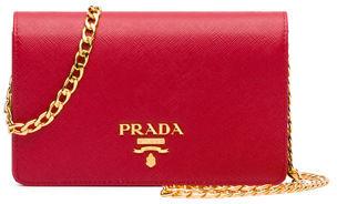 Prada Saffiano Lux Crossbody Bag $1,270 thestylecure.com