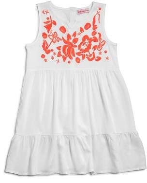 Design History Girls' Embroidered Shirt Dress - Little Kid