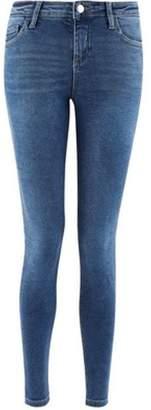 Dorothy Perkins Womens Blue Premium 'Darcy' Skinny Ankle Grazer Jeans