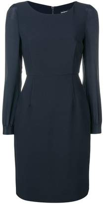 Emporio Armani tailored midi dress