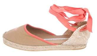 Anya Hindmarch Round-Toe Espadrille Flats
