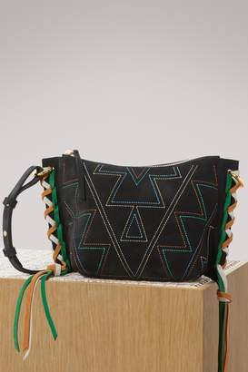 Isabel Marant Leather Fangoh crossbody