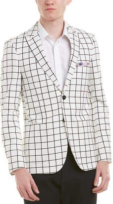 Paisley & Gray Ashton Slim Fit Peak Jacket