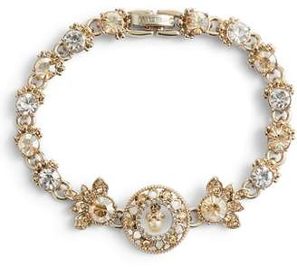 Marchesa Ornate Crystal Bracelet