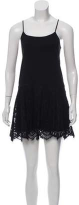Alexis Pleated Mini Dress Black Pleated Mini Dress