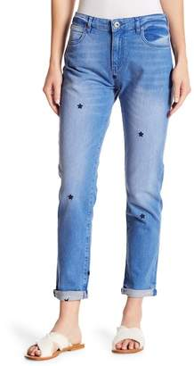 "Scotch & Soda Petit Ami Star Embroidered Jeans - 30-34\"" Inseam"