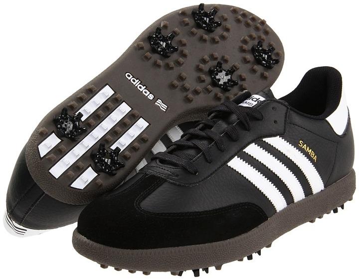 adidas Samba Golf (Black/White/Gum) - Footwear