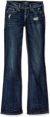 Silver Jeans Co. Women's Tuesday Low-Rise Bootcut