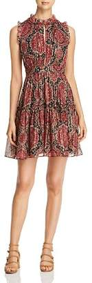 Kate Spade Metallic Medallion Print Dress