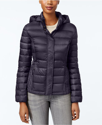 32 Degrees Packable Hooded Puffer Coat, Created for Macy's $100 thestylecure.com