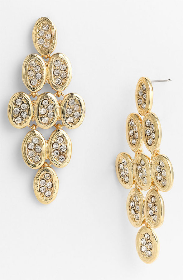 Tasha Crystal Kite Chandelier Earrings