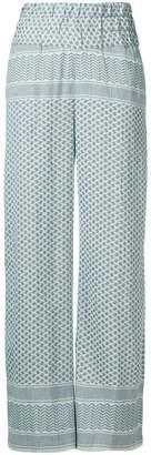Cecilie Copenhagen printed trousers