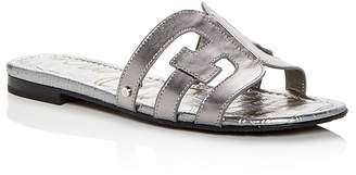 Sam Edelman Women's Bay Leather Slide Sandals