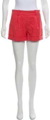Diane von Furstenberg Gillian Mid-Rise Shorts