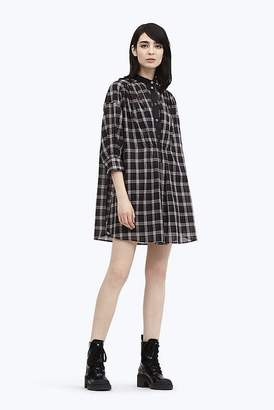 Marc Jacobs Plaid Drop Shoulder Dress