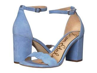 7bc8ba7de60 Sam Edelman Odila Ankle Strap Sandal Heel