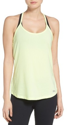 Women's Under Armour Fly By Racerback Tank $34.99 thestylecure.com
