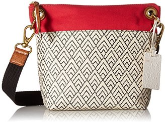Fossil Keely Crossbody-White/Black $70.99 thestylecure.com