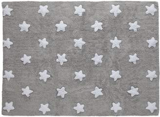 Lorena Canals Washable Rug (Grey Stars/White)