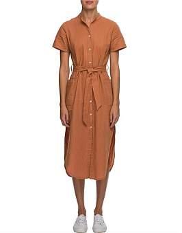 Nude Lucy Maya Linen Maxi Dress