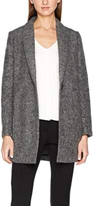 Suncoo Women's ELOI Coat, Grey 10-Carbone, Large
