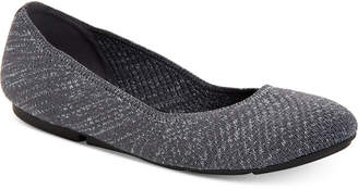 Alfani Step 'N Flex Tamii Knit Flats, Created for Macy's Women's Shoes