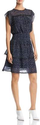 Aqua Tiered Polka Dot Dress - 100% Exclusive