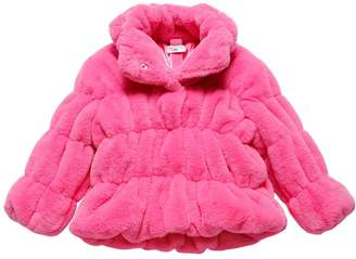 MonnaLisa Faux Fur Jacket