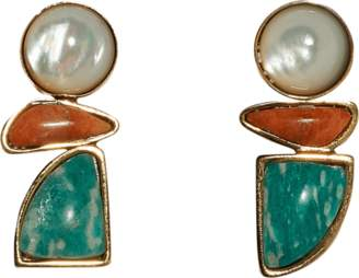 Lizzie Fortunato Seaside Stud Earrings