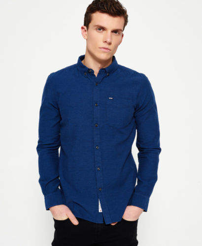 Neues Herren Shoreditch Button-Down-Hemd...