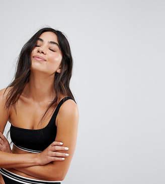 Monki One Shoulder Bikini Top
