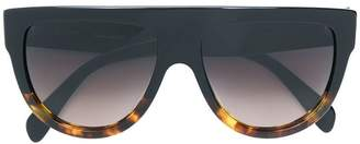 Celine flat top aviator sunglasses